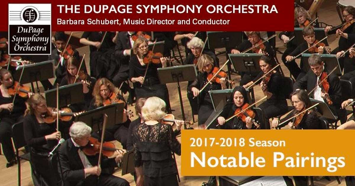 DuPage Symphony Orchestra Notable Pairings Annual Fundraiser