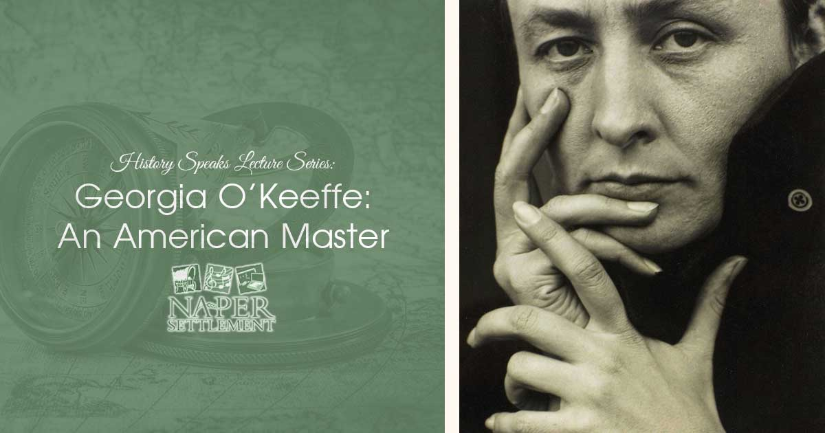 History Speaks Lecture Series: Georgia O'Keeffe - An American Master