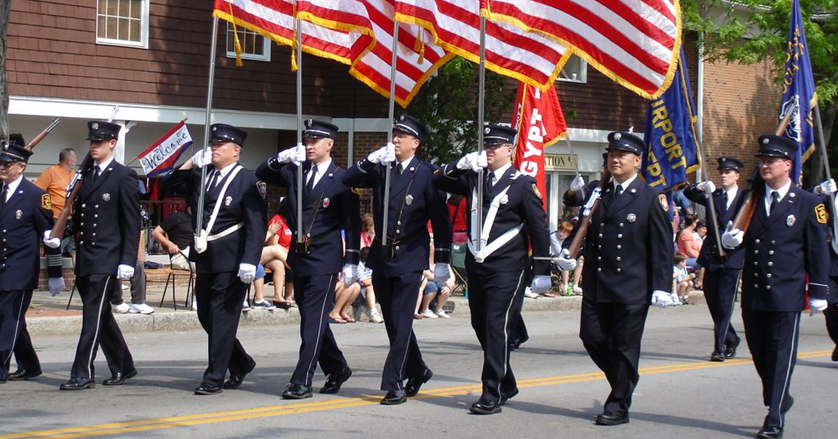 Memorial Day Parade And Ceremony