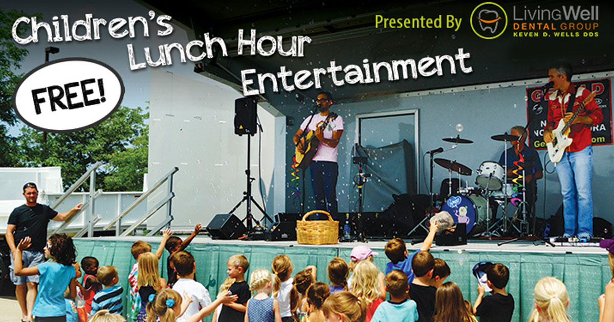 Naperville Park District Children's Lunch Hour Entertainment Series