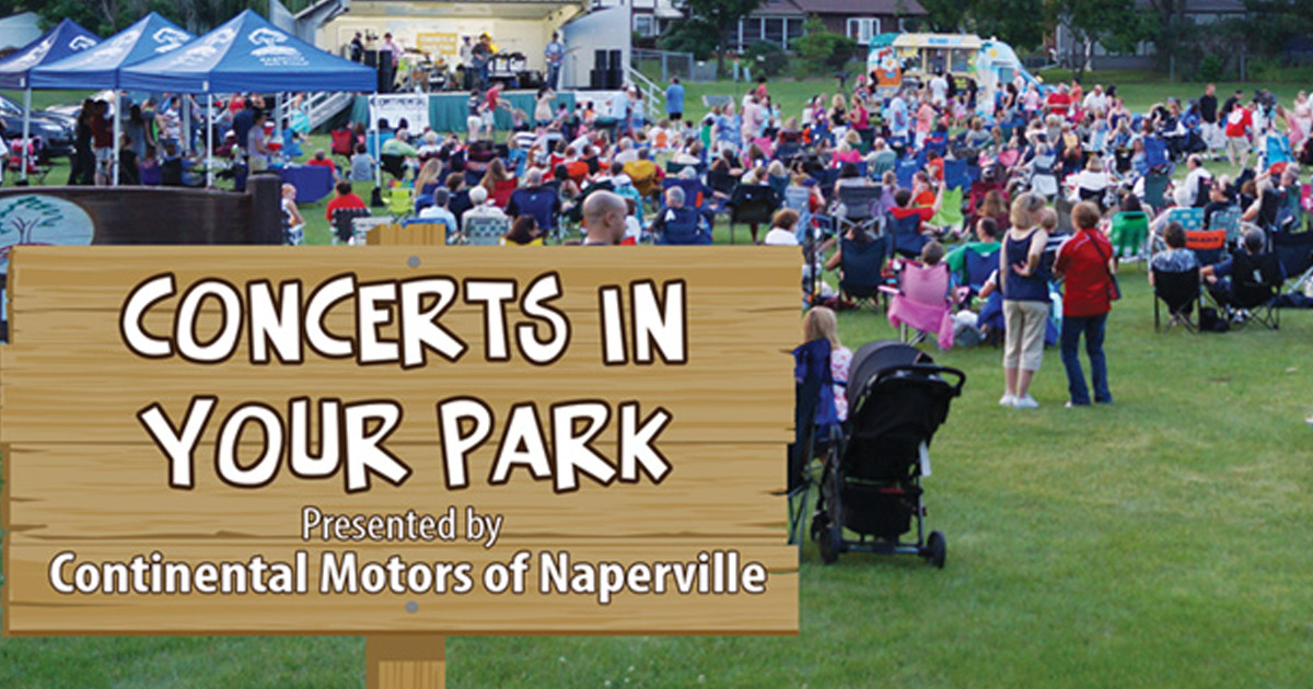Naperville Park District Concerts In Your Park