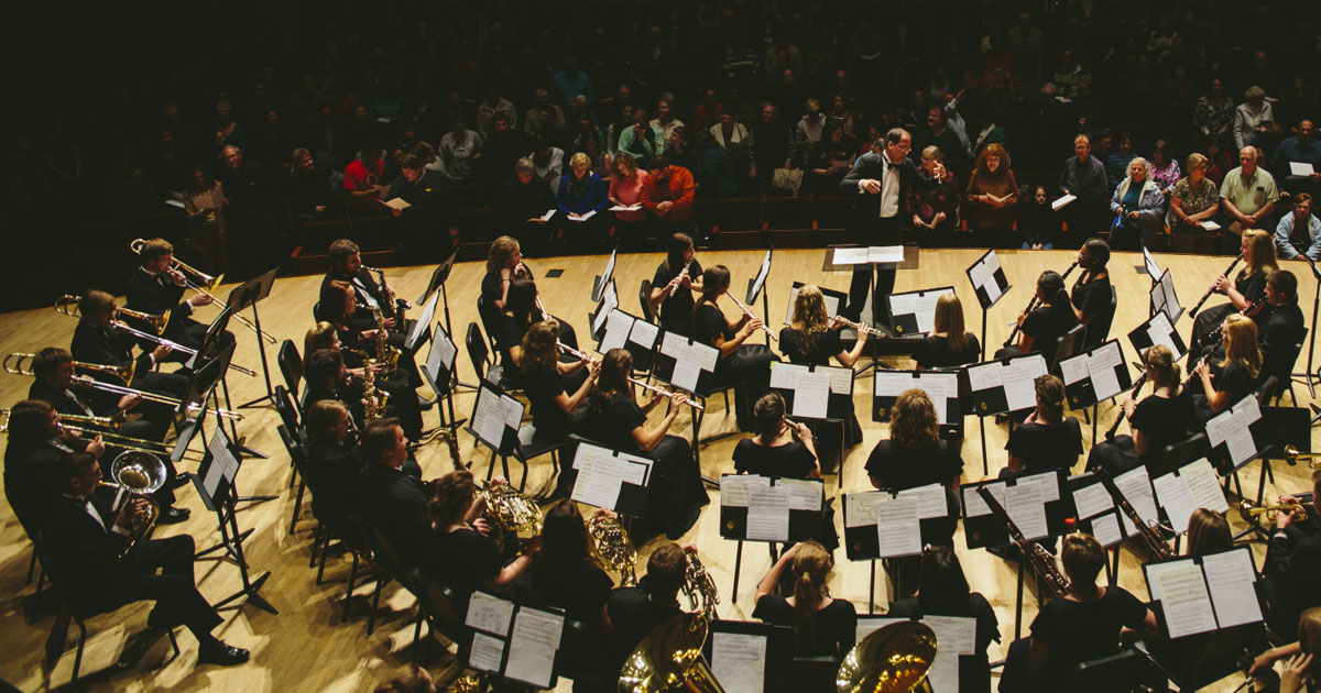 Symphony Band/Chamber Players Winter Concert