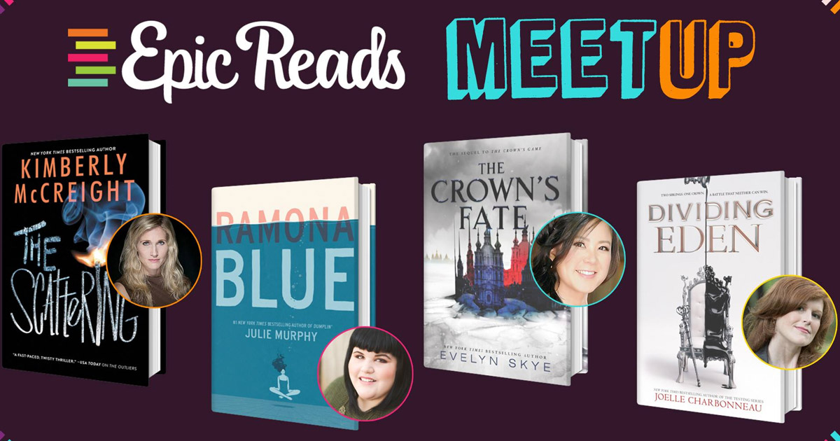 Joelle Charbonneau, Kimberly McCreight, Julie Murphy and Evelyn Skye Booksigning