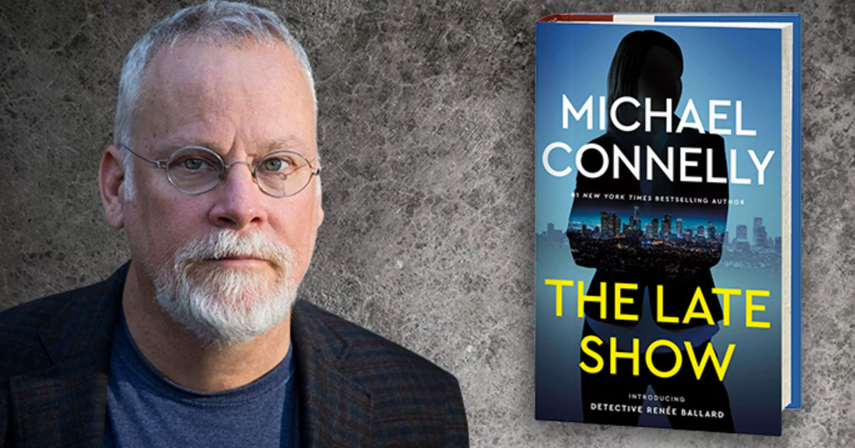 Michael Connelly Presentation & Signing Line