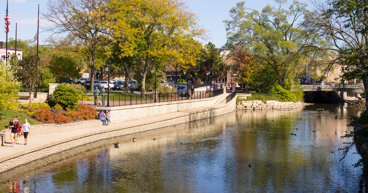 Image result for naperville riverwalk